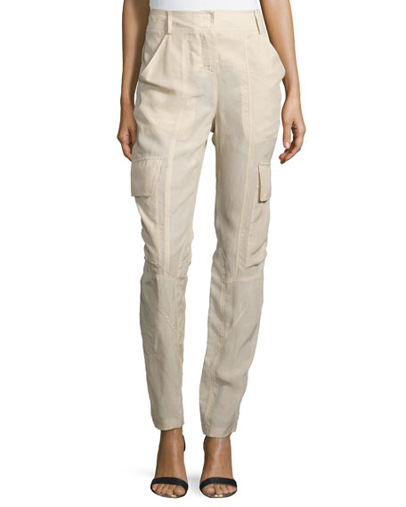 Kaufman Franco Slim-Fit Parachute Pants, Desert