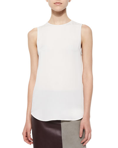 Bringam Sleeveless Silk Blouse