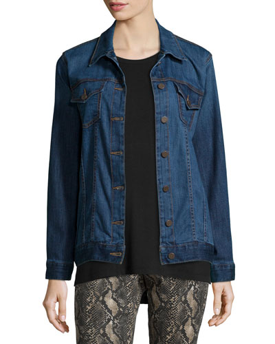 Deliverance Long Denim Jacket