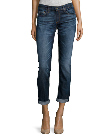 rag & bone/JEANDre Rolled-Cuff Skinny Jeans, The Pike