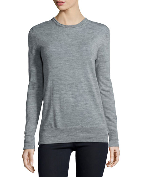 rag & bone/JEAN Leanna Long-Sleeve Boyfriend Sweater, Medium