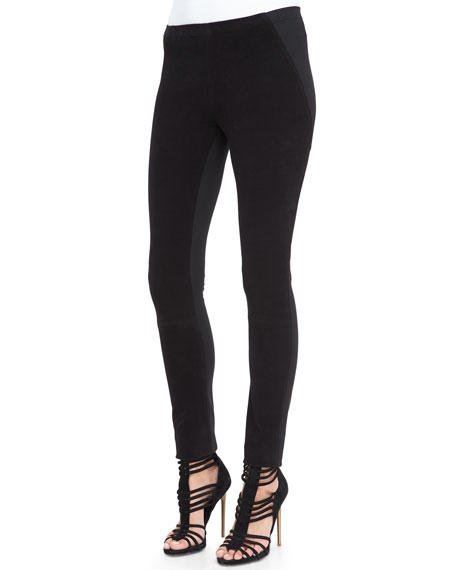 Donna Karan Structured Jersey Legging Pants
