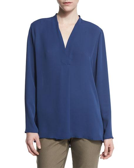 NIC+ZOE Majestic Matte Long-Sleeve Shirt