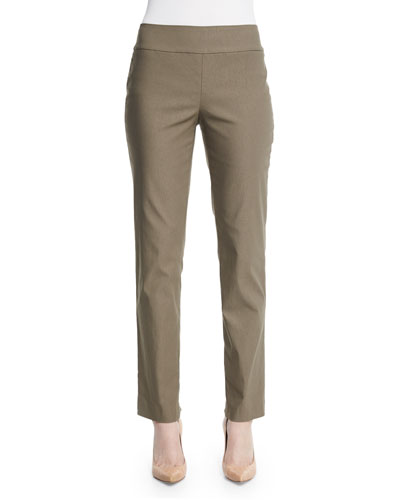 Slim Wonderstretch Pants, Washed Olive