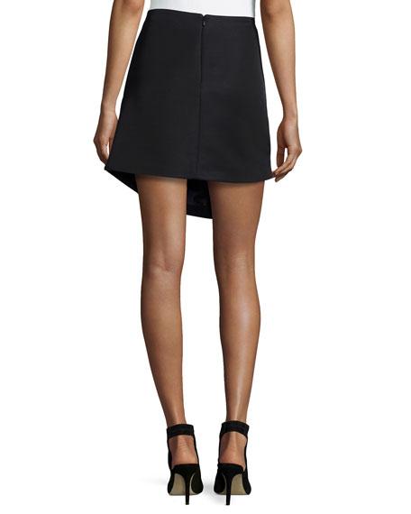 Color Story Jacquard Skirt, Black Multi