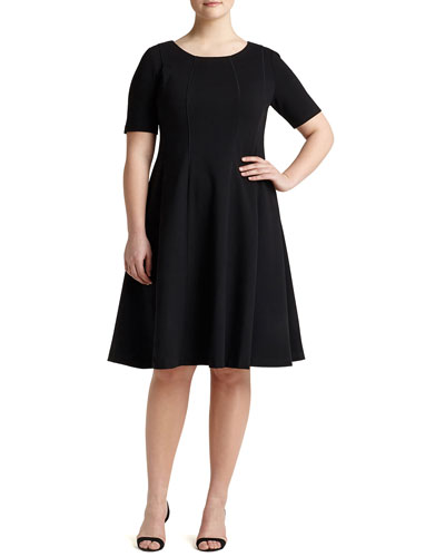 Bev Short-Sleeve Dress, Women's