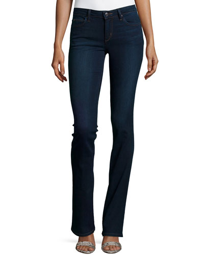 The Vixen Boot-Cut Jeans, Cecily