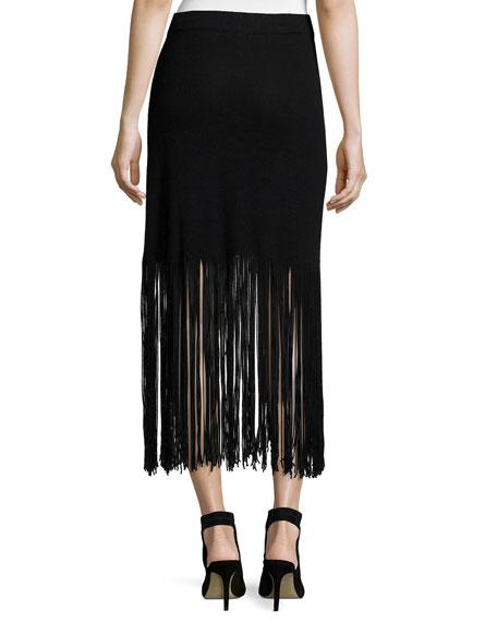 NIC+ZOE Fringed Up Skirt