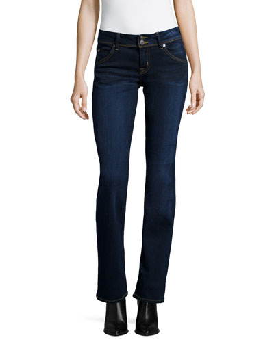 Beth Boot-Cut Jeans, Oracle