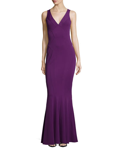 Veronica Sleeveless Mermaid Gown