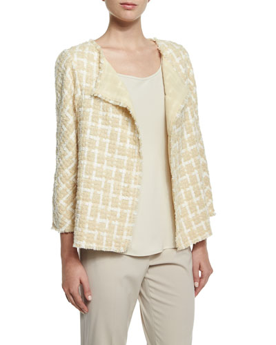 Venus Tweed Topper Jacket