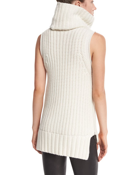 Mary-Kate Sleeveless Knit Sweater