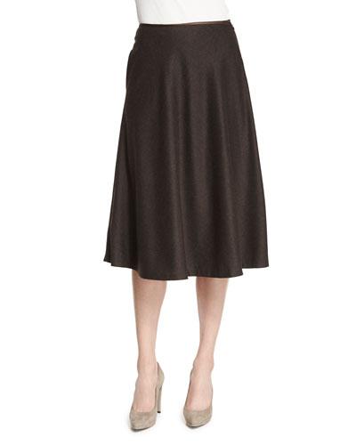 Suzie Flannel A-Line Skirt