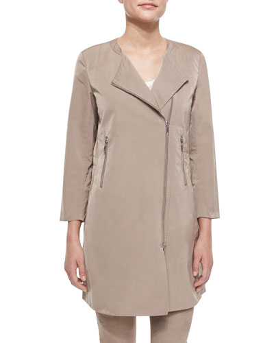 Shelby Chic Outerwear Topper, Nutmeg