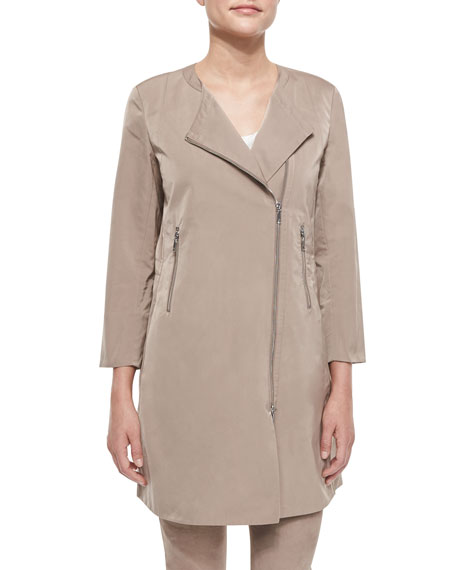 Lafayette 148 New York Shelby Chic Outerwear Topper,