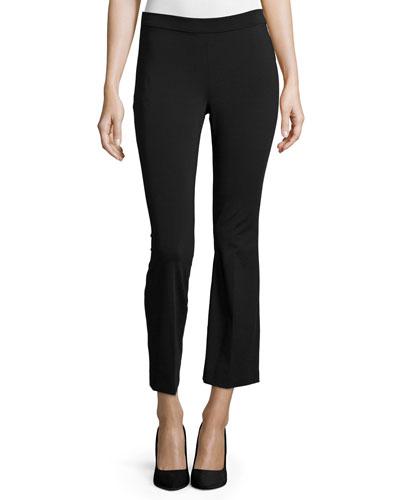 Rabeanie Fixture-Ponte Pants, Black