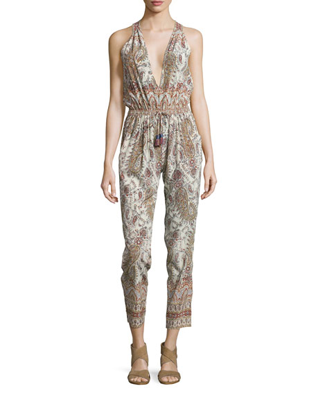Calypso St. Barth Liette Sleeveless Jumpsuit, Apparition