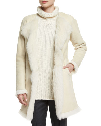 Jathan Hollice Fur-Lined Jacket
