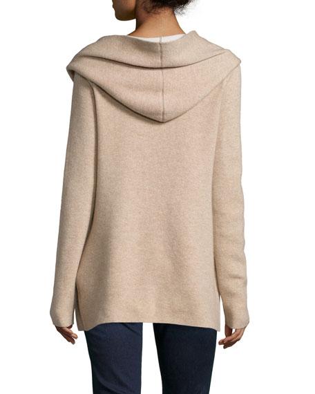 Gredan Hooded Cashmere-Blend Cardigan
