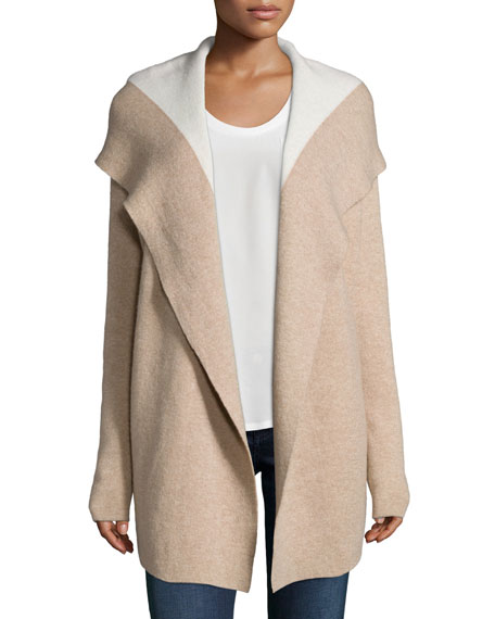 Joie Gredan Hooded Cashmere-Blend Cardigan
