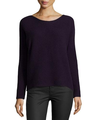 Kerenza Soft-Drape Ribbed Sweater
