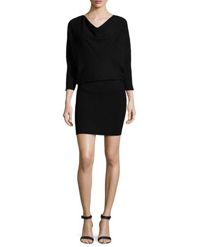 Athel B. 3/4-Sleeve Dress