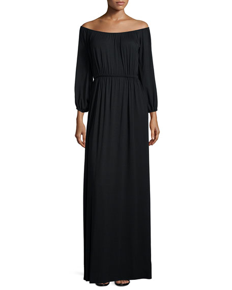 Freya Off-the-Shoulder Maxi Dress
