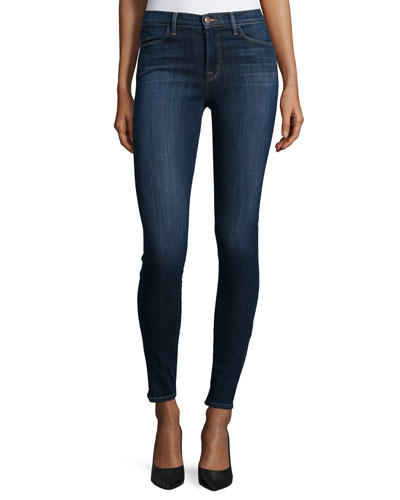 Skinny High-Rise Jeans, Oblivion