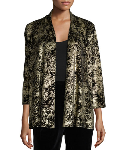 Luminous Velvet Cardigan, Women's