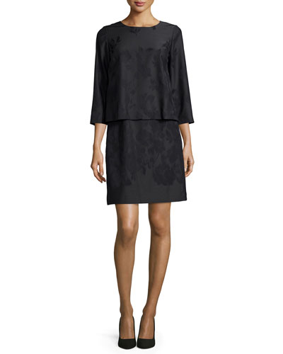 Belinda Jacquard Popover Dress