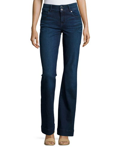Foundation High-Waist Flare Jeans, Phyllis