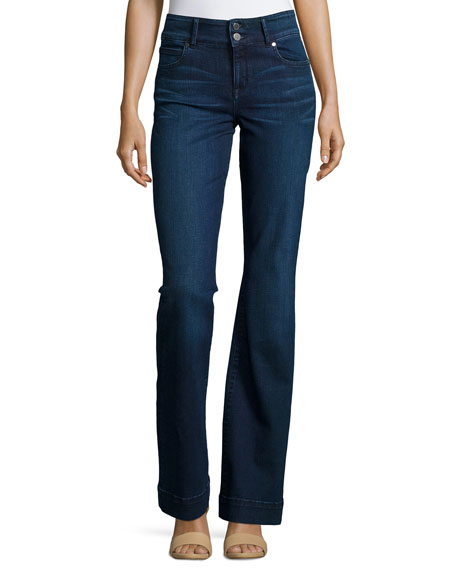 CJ by Cookie Johnson Foundation High-Waist Flare Jeans,