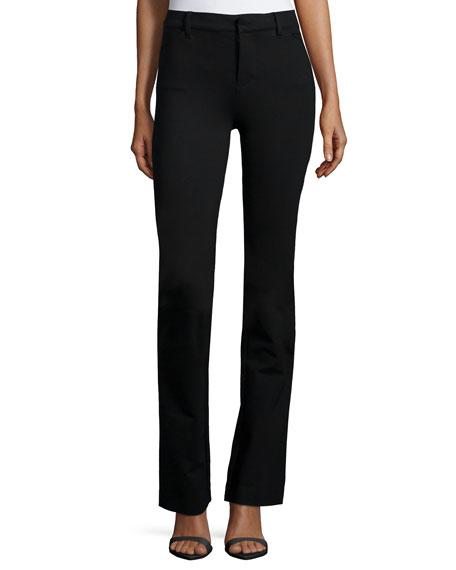 J Brand Jeans Anita High-Waist Pants, Black