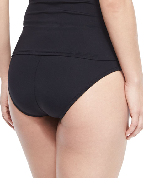 High-Waisted Tummy Toner Swim Bottom, Women's