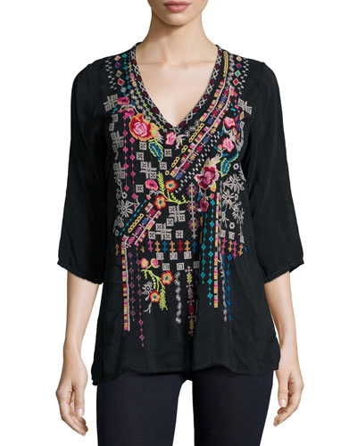 Sonrisa Embroidered Tunic