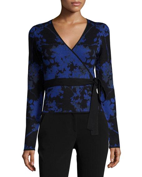 Diane von Furstenberg Floral Daze Wool Ballerina Sweater,