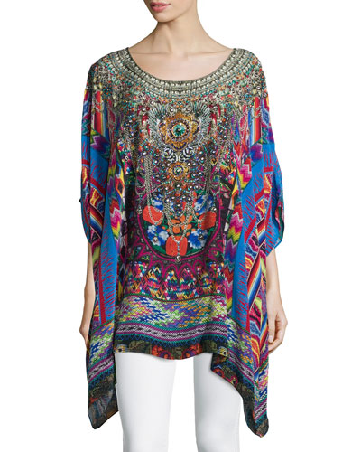 Tapestry of Time Embellished Caftan