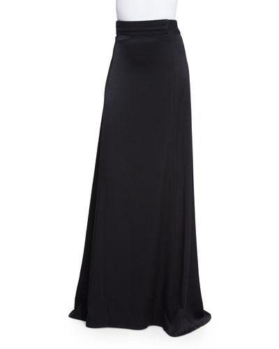 Satin Full Skirt