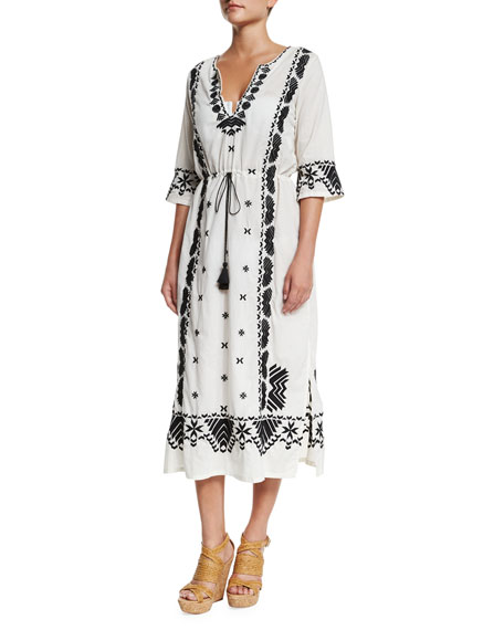 Figue Liana Printed Caftan Dress