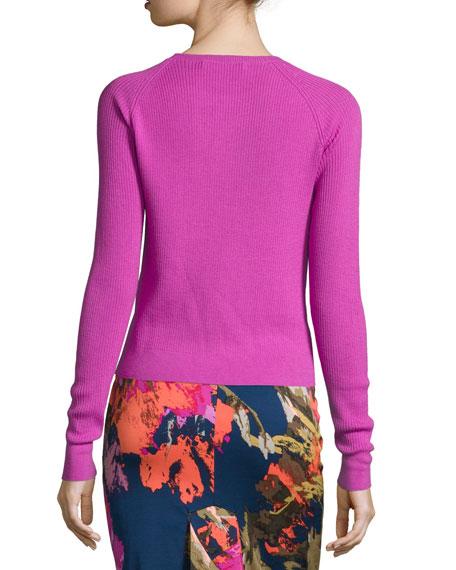 Jovi Long-Sleeve Crewneck Sweater