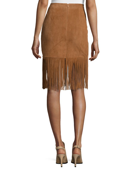 how to make suede fringe