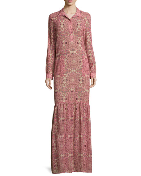 Geneva Printed Maxi Dress, Sienna
