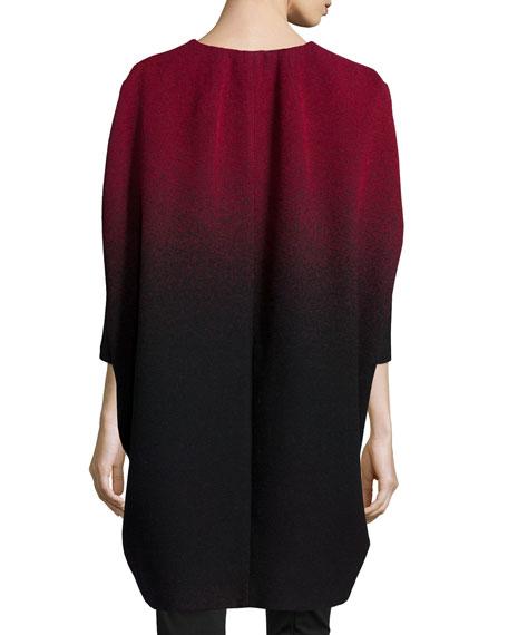 Katelyn Ombre Cocoon Coat