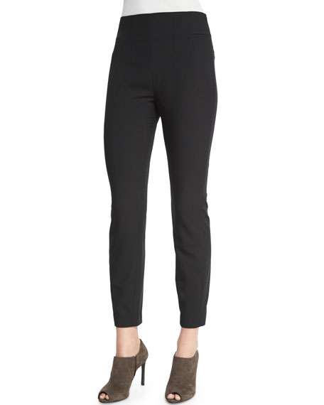 Magaschoni Luxe Bi-Stretch Ankle Pants