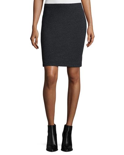 Ribbed T-Shirt Skirt