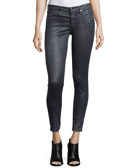 AG Adriano Goldschmied Legging Ankle Leatherette Light -