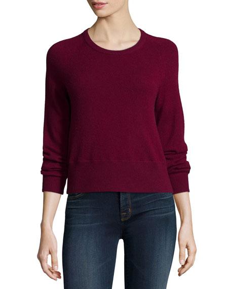 J Brand Jeans Dauphine Cashmere Sweater, Sangria