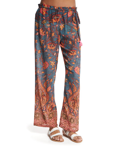 Figue Niara Printed Coverup Pants