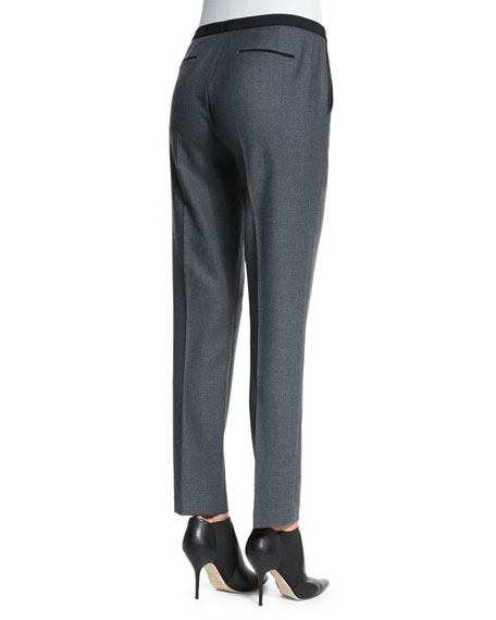 Karis Stretch Flannel Slim Pants
