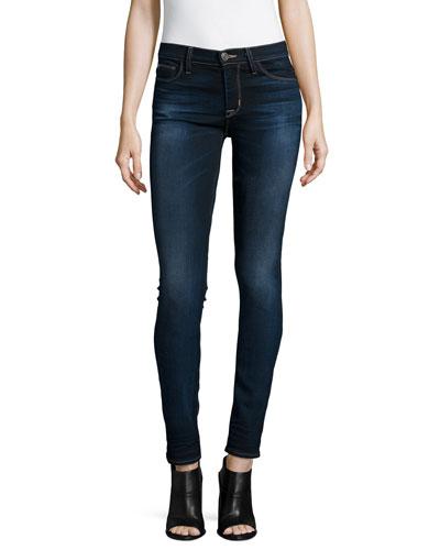 Shine Mid-Rise Skinny Jeans, Crowbird